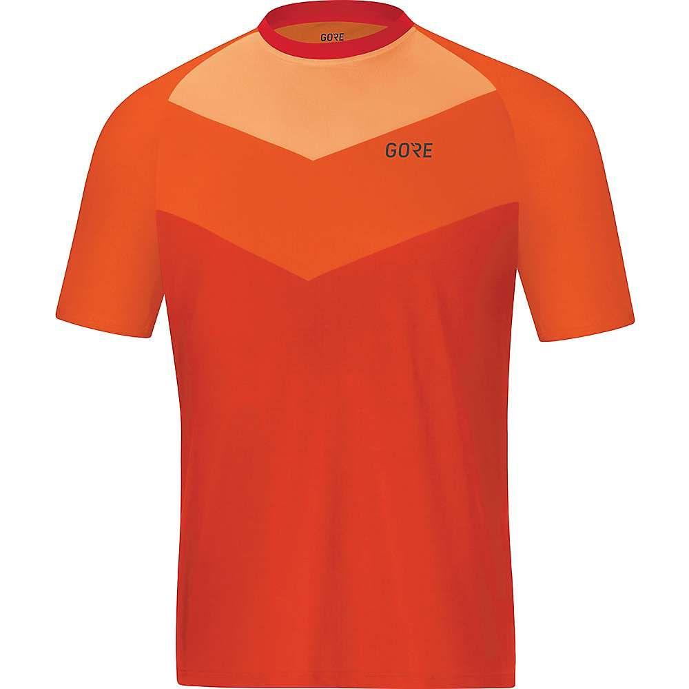 ゴア メンズ 自転車 トップス【Wear C5 Trail SS Jersey】Orange.Com