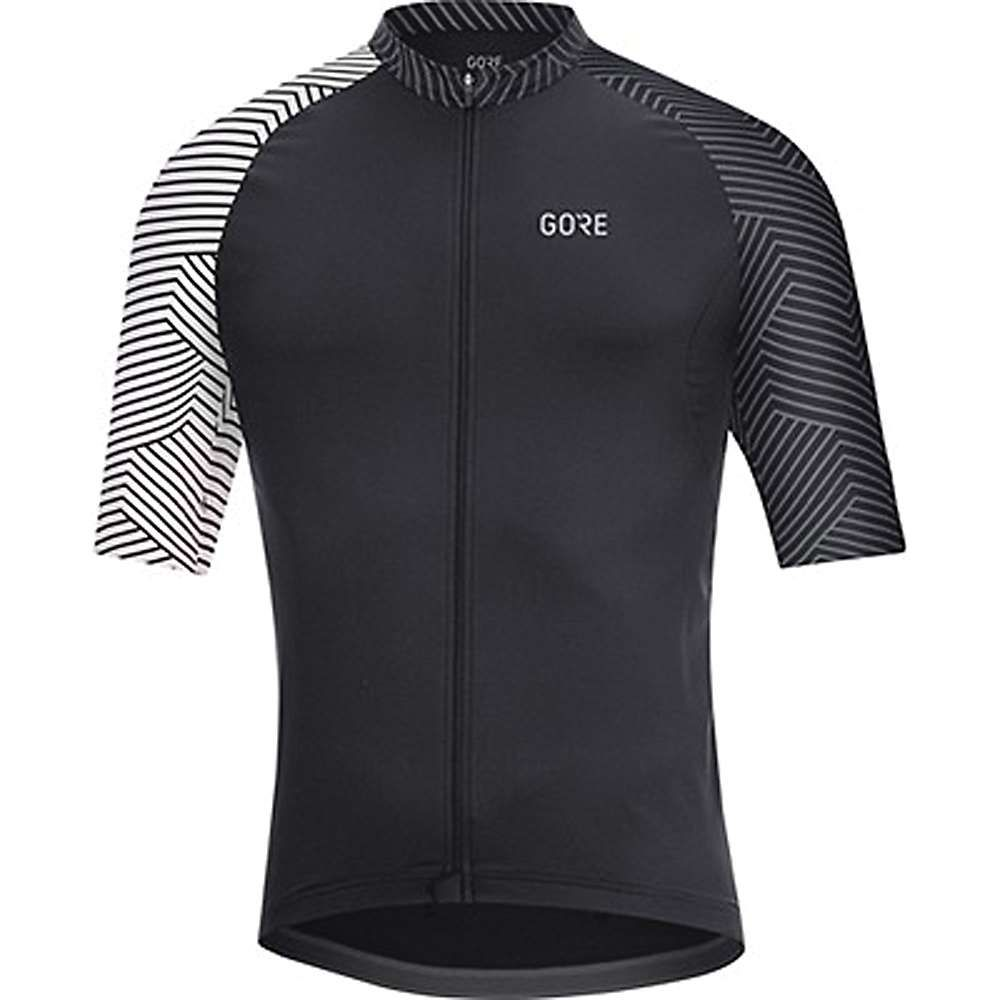 ゴア メンズ 自転車 トップス【Wear C5 Optiline Jersey】Black / White