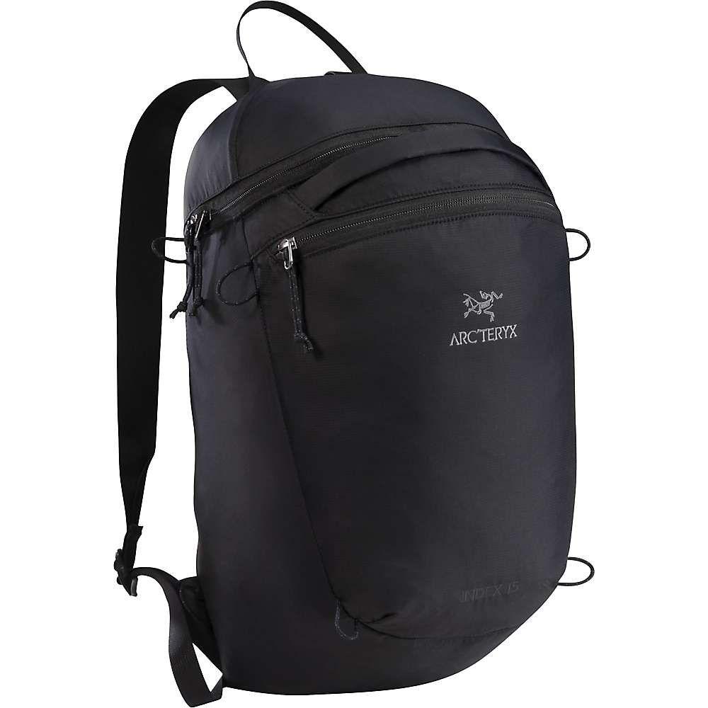 アークテリクス メンズ バッグ バックパック・リュック【Index 15 Backpack】Black