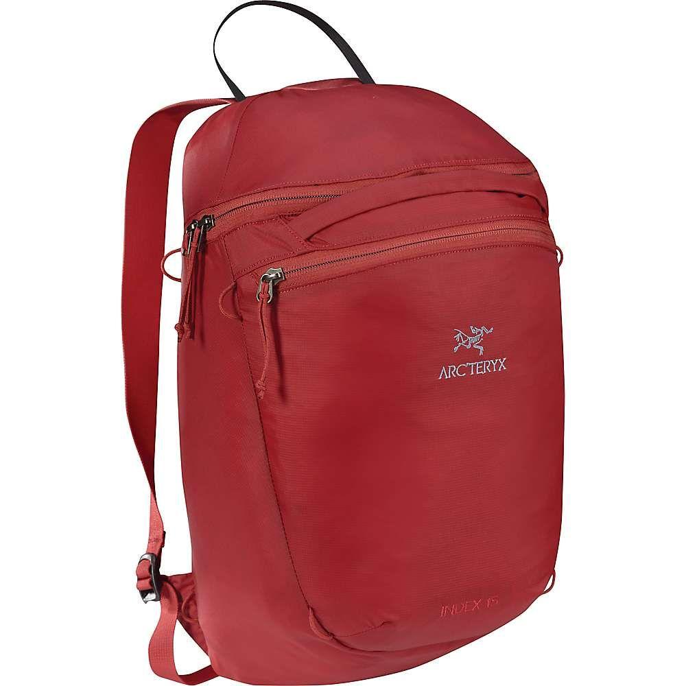 アークテリクス メンズ バッグ バックパック・リュック【Index 15 Backpack】Sangria