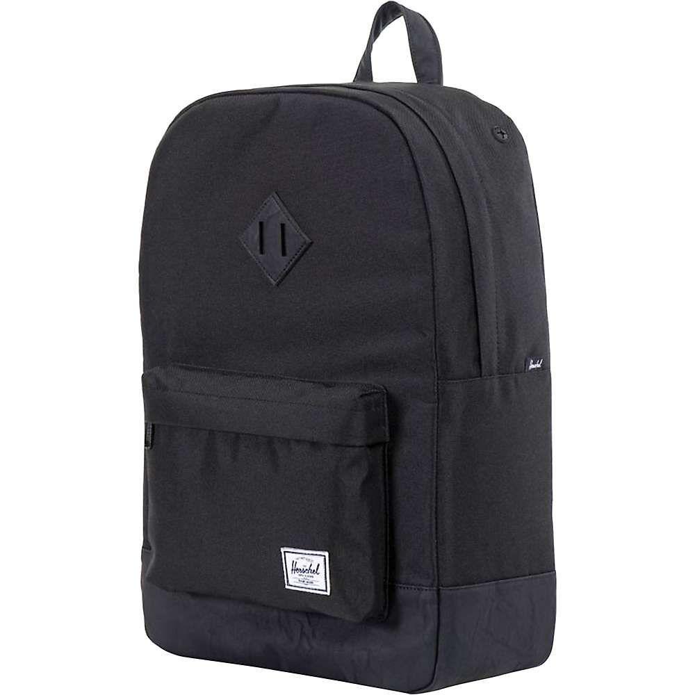 サプライ / ユニセックス Tan バッグ パソコンバッグ【Heritage Backpack】Black ハーシェル