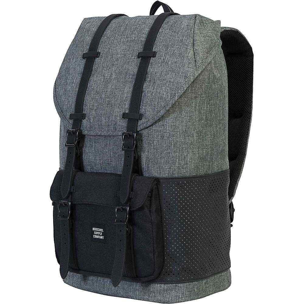 ハーシェル サプライ ユニセックス バッグ パソコンバッグ【Little America Backpack】Raven Crosshatch / Black