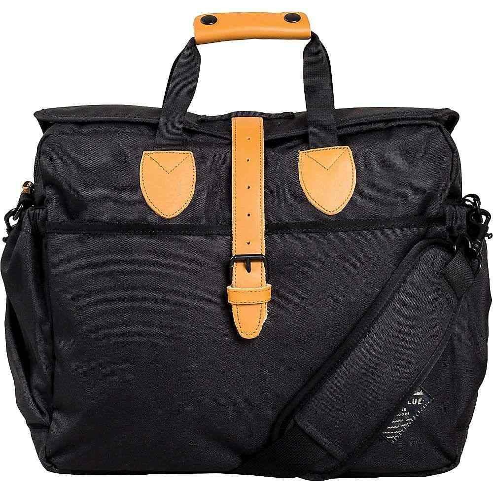 ユナイテッドバイブルー ユニセックス バッグ パソコンバッグ【Deuhl Laptop Bag】Black