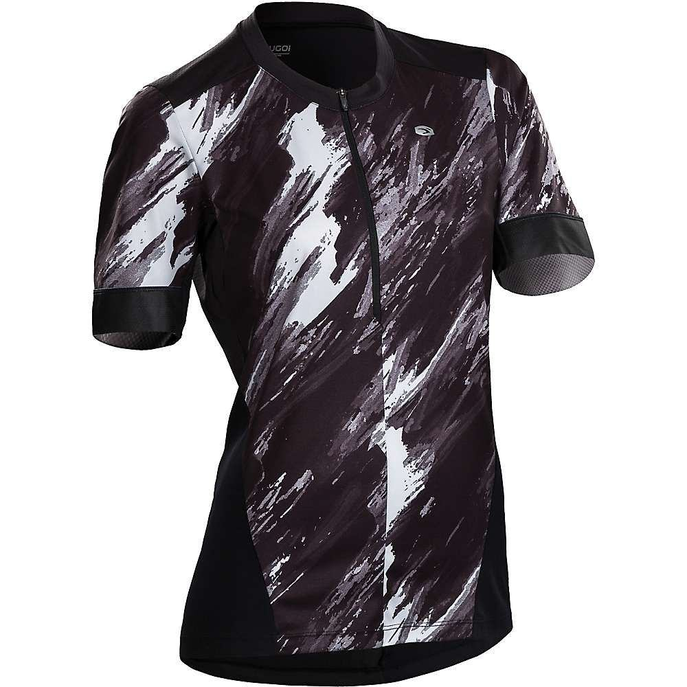 スゴイ レディース 自転車 トップス【Pulse Jersey】Black / Brush Print