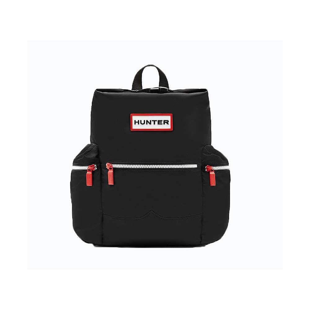 ハンター ユニセックス バッグ バックパック・リュック【Original Mini Topclip Nylon Backpack】Black