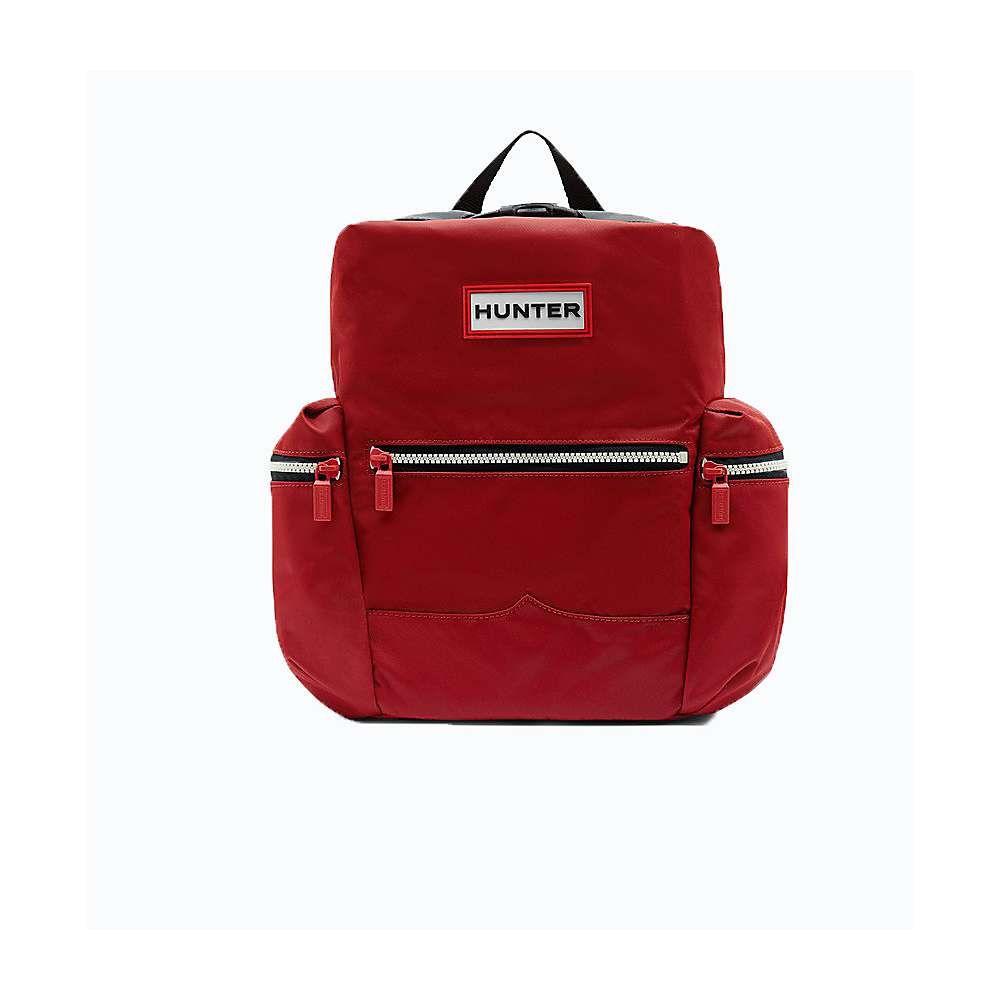 ハンター ユニセックス バッグ バックパック・リュック【Original Mini Topclip Nylon Backpack】Military Red