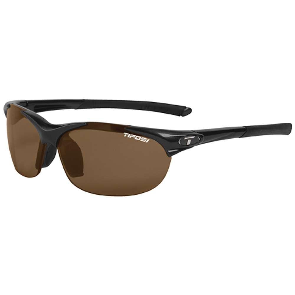 ティフォージ レディース スポーツサングラス【Tifosi Wisp Polarized Sunglasses】Gloss Black / Brown Polarized