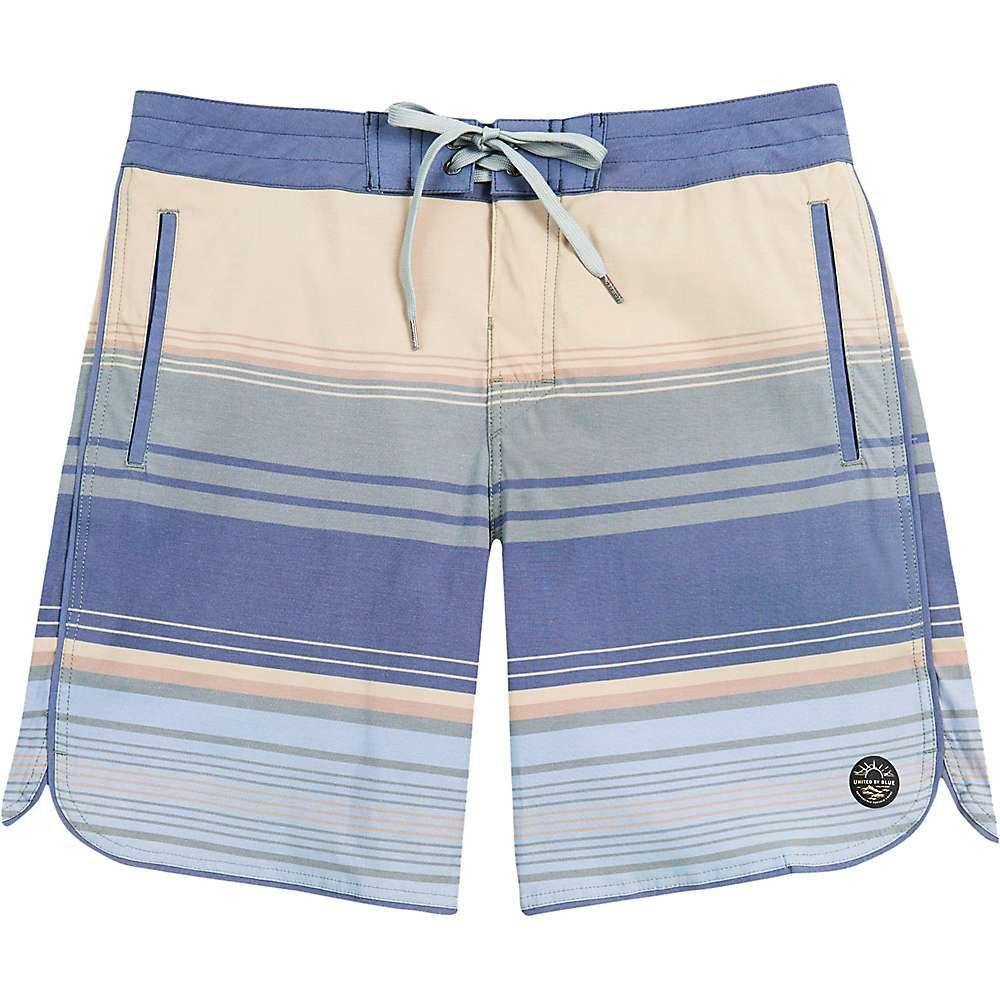 ユナイテッドバイブルー メンズ 水着・ビーチウェア 海パン【Sea Bed Scallop Boardshort】Olive