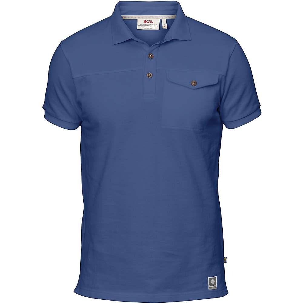 フェールラーベン メンズ トップス ポロシャツ【Greenland Polo Shirt】Deep Blue