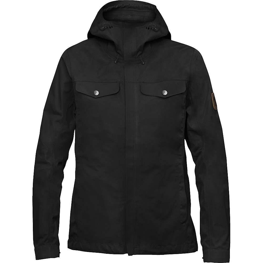 フェールラーベン レディース アウター レインコート【Greenland Half Century Jacket】Black