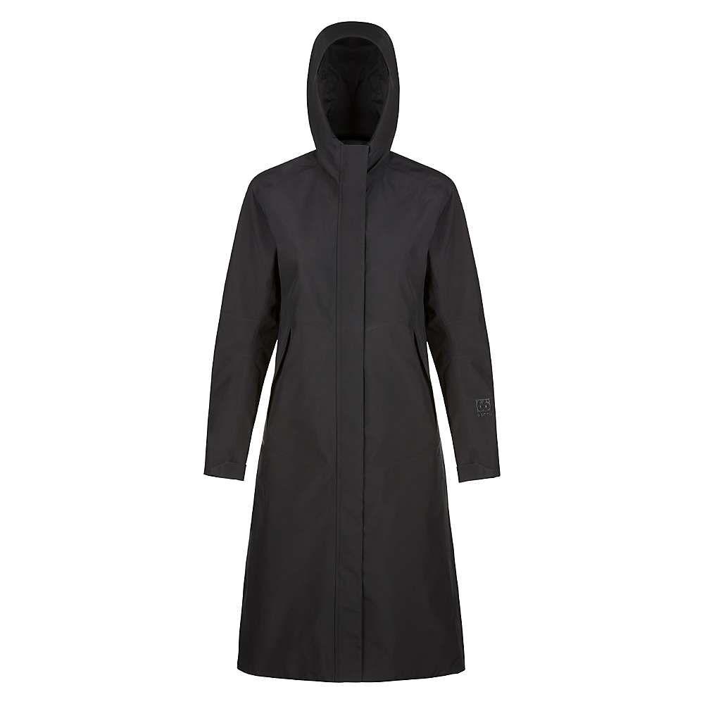 66ノース レディース アウター レインコート【Esja Gore-Tex Coat】Black