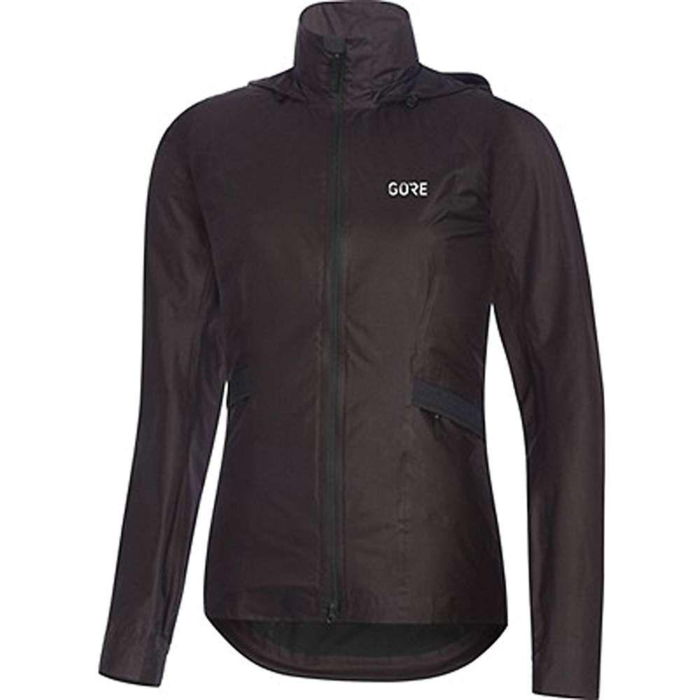 ゴア レディース アウター レインコート【Wear R5 GTX Shakedry Hooded Jacket】Black