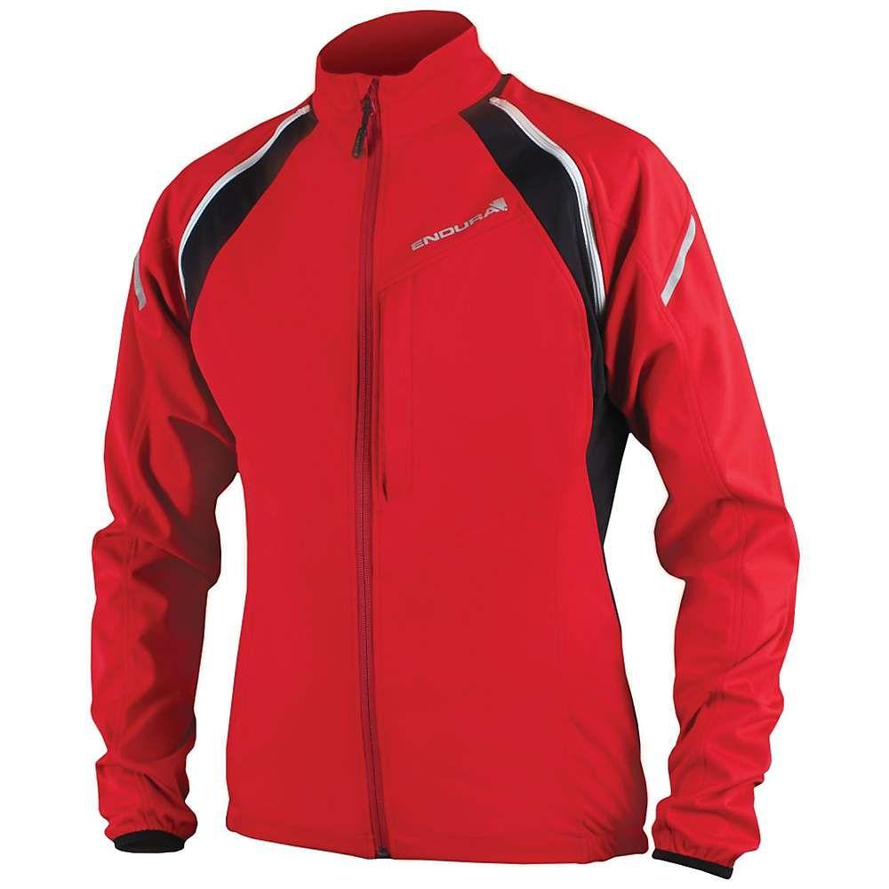 エンデュラ メンズ 自転車 アウター【Convert Softshell Jacket】Red