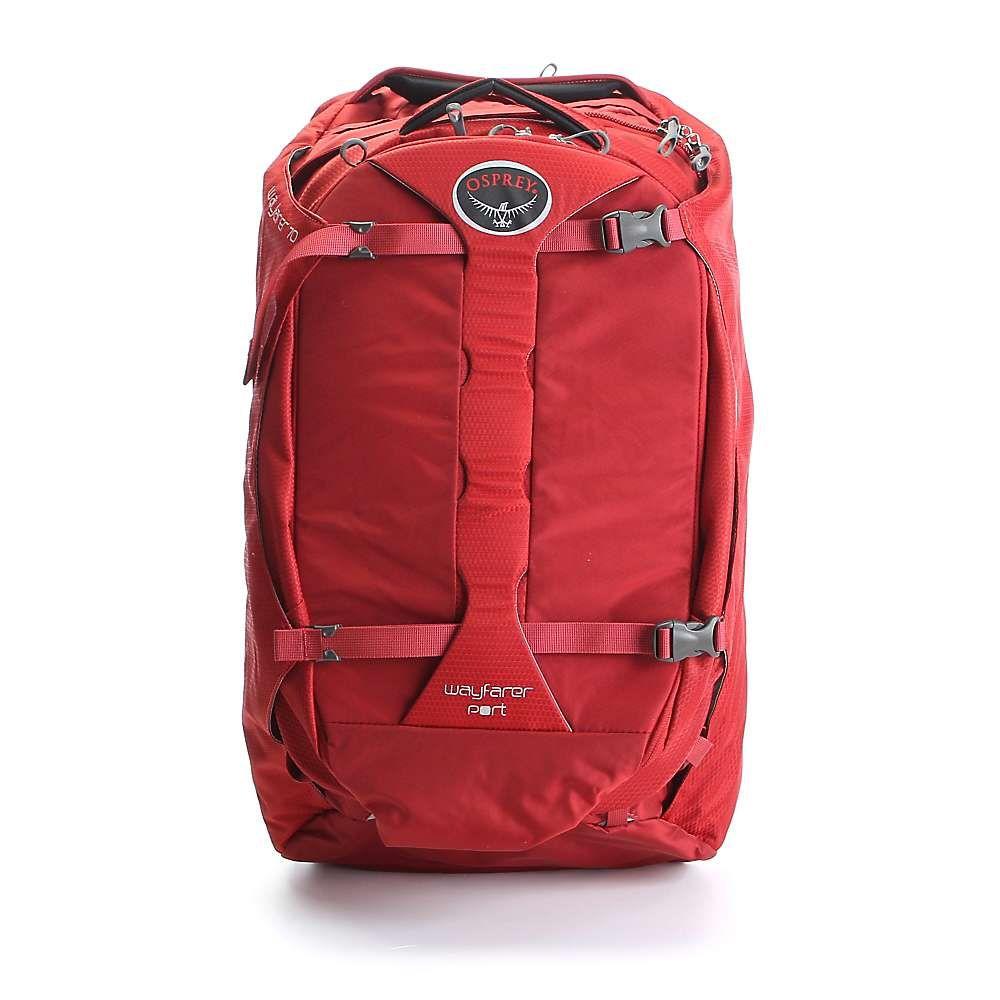 オスプレー メンズ バッグ【Wayfarer 70 Pack】Garnet Red