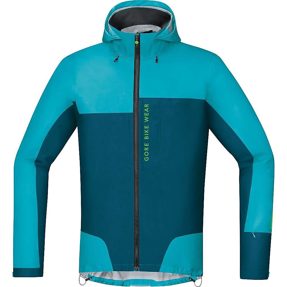 ゴアウェア メンズ 自転車 アウター【Power Trail Gore-Tex Active Shell Jacket】Scuba Blue / Ink Blue