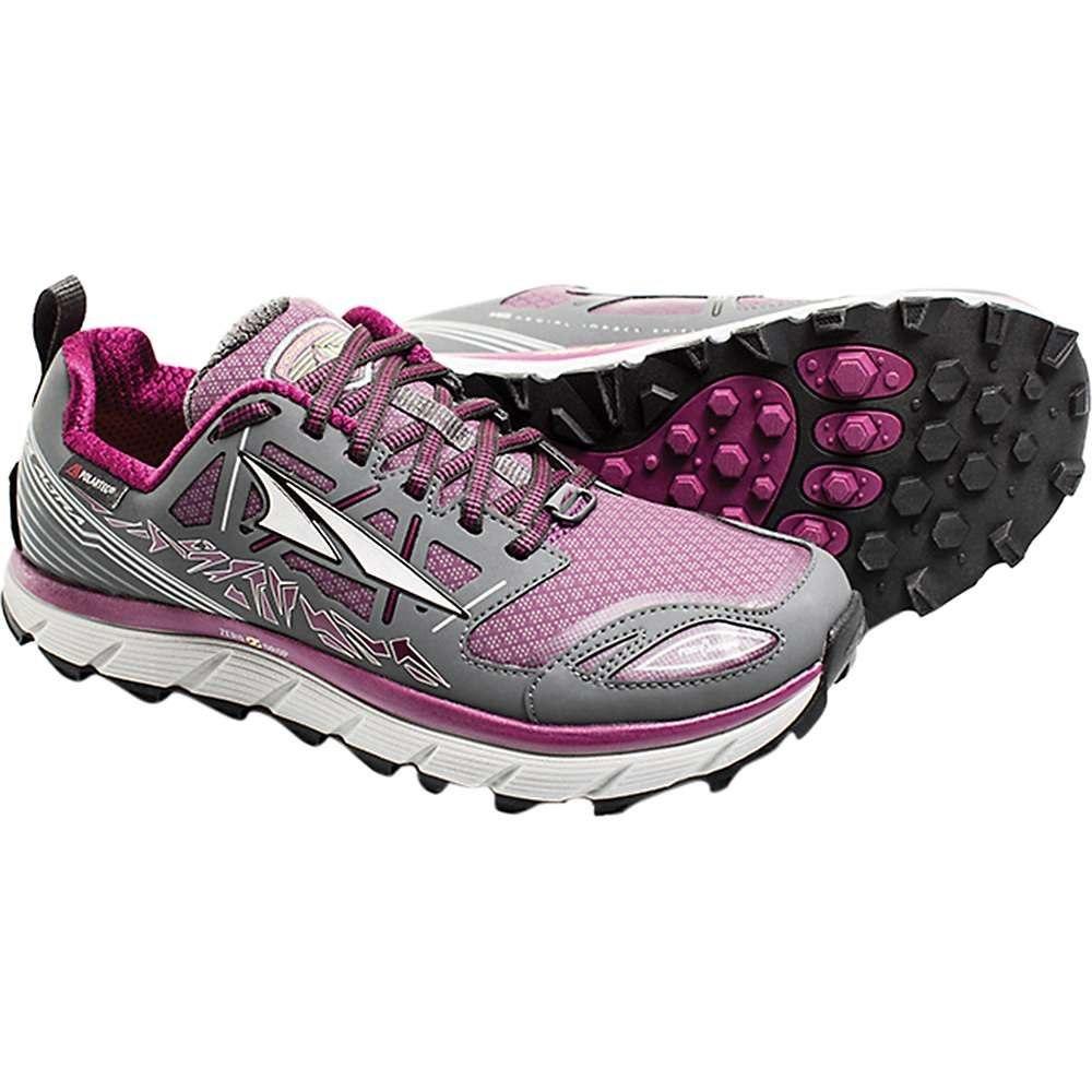 アルトラ レディース ランニング・ウォーキング シューズ・靴【Lone Peak 3.0 Low NeoShell Shoe】Grey / Purple