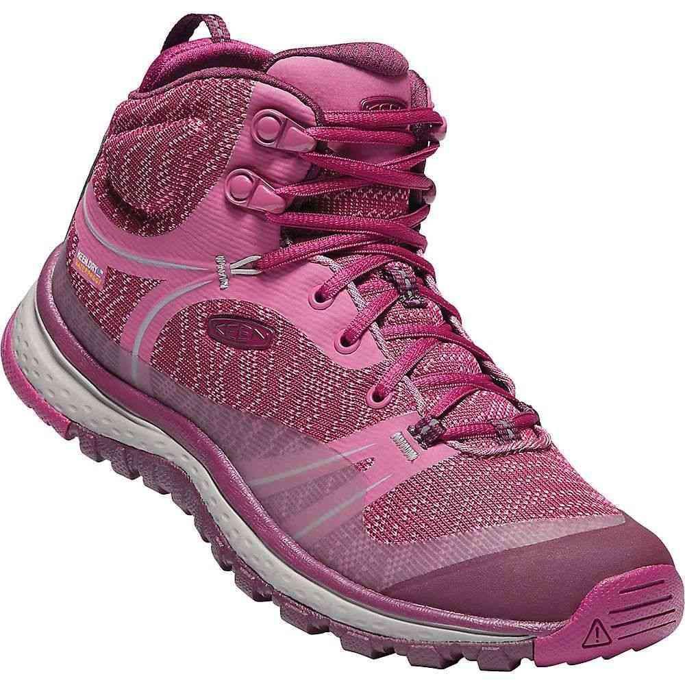 キーン レディース ハイキング・登山 シューズ・靴【Terradora Mid Waterproof Boot】Boysenberry / Grape Wine