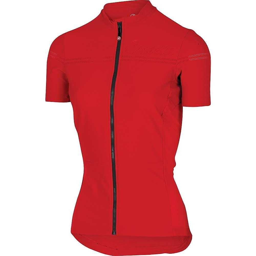 カステリ レディース 自転車 トップス【Promessa 2 Jersey】Red