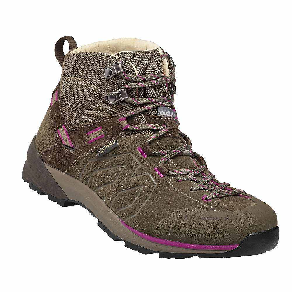 ガルモント レディース ハイキング・登山 シューズ・靴【Santiago GTX Mid Boot】Brown / Fucsia