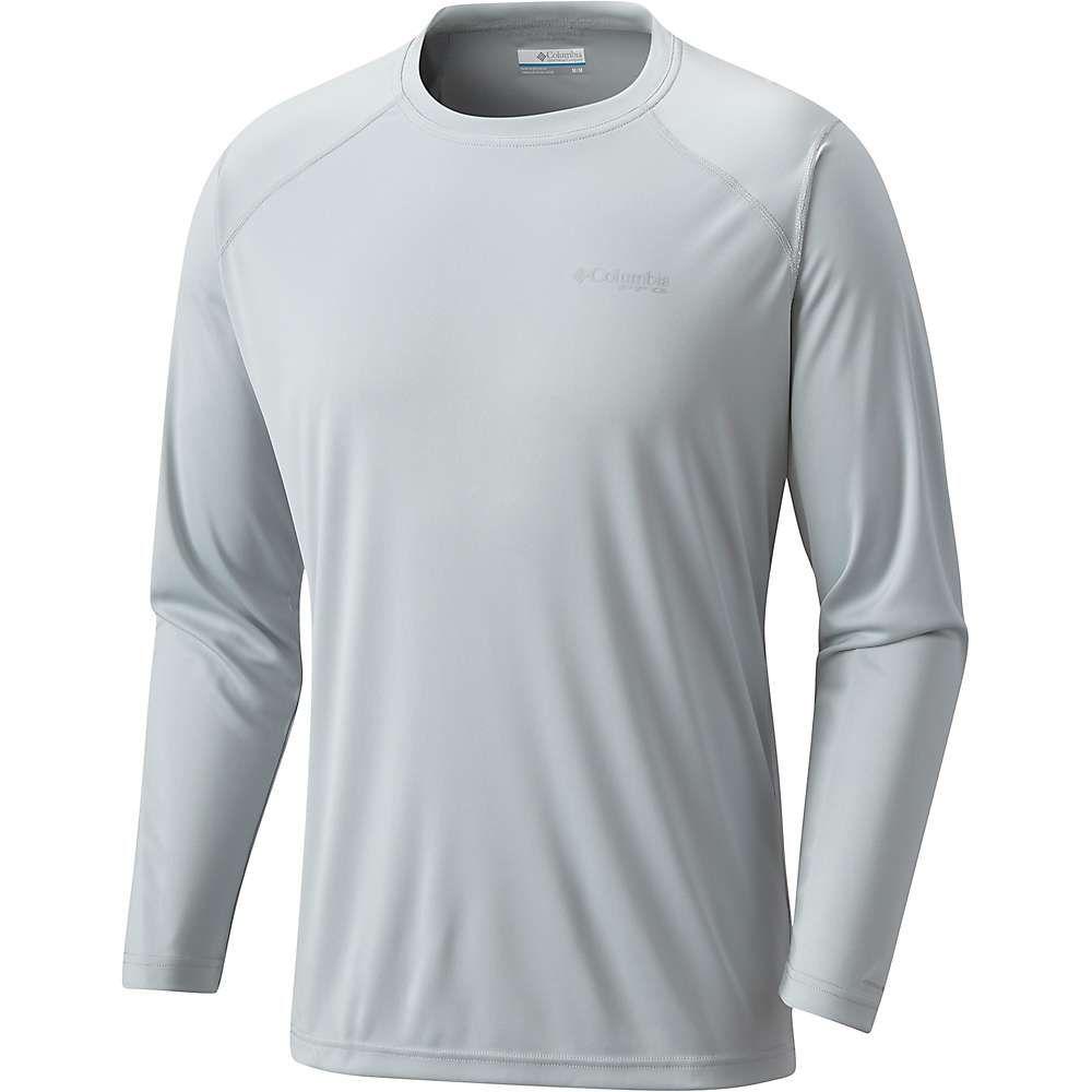 コロンビア メンズ ハイキング・登山 トップス【Blood And Guts III LS Knit Shirt】Cool Grey
