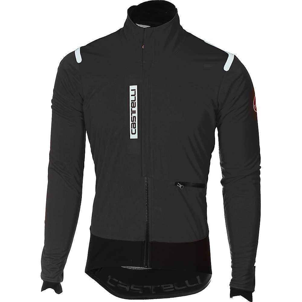 カステリ メンズ 自転車 アウター【Alpha ROS Jacket】Light Black / Black