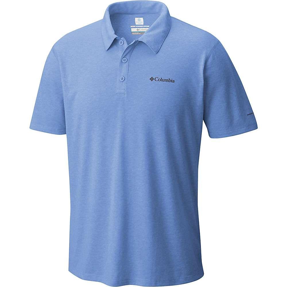 コロンビア メンズ ハイキング・登山 トップス【Silver Ridge Zero Polo Shirt】Azul Heather