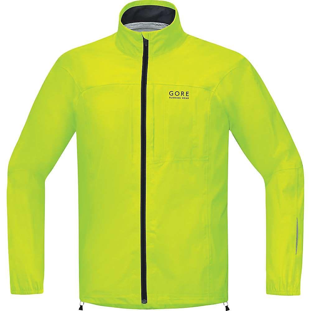 ゴアウェア メンズ ランニング・ウォーキング アウター【Essential Gore-Tex Active Shell Jacket】Neon Yellow