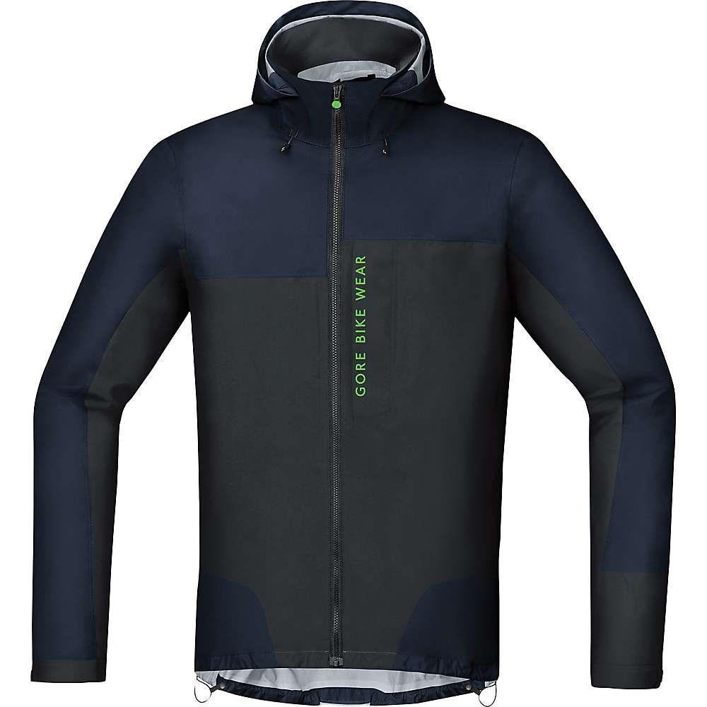 ゴアウェア メンズ 自転車 アウター【Power Trail GTX Active Jacket】Black Iris / Black