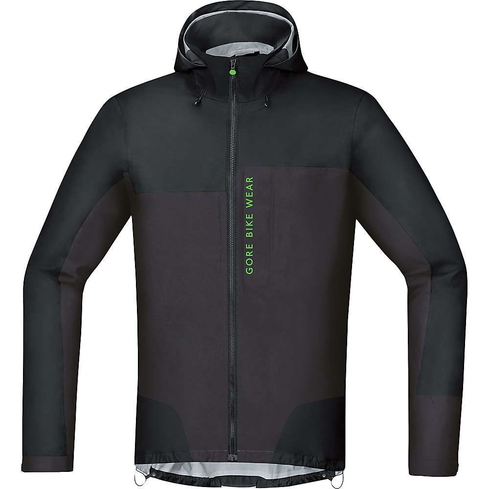 ゴアウェア メンズ 自転車 アウター【Power Trail GTX Active Jacket】Black / Raven Brown