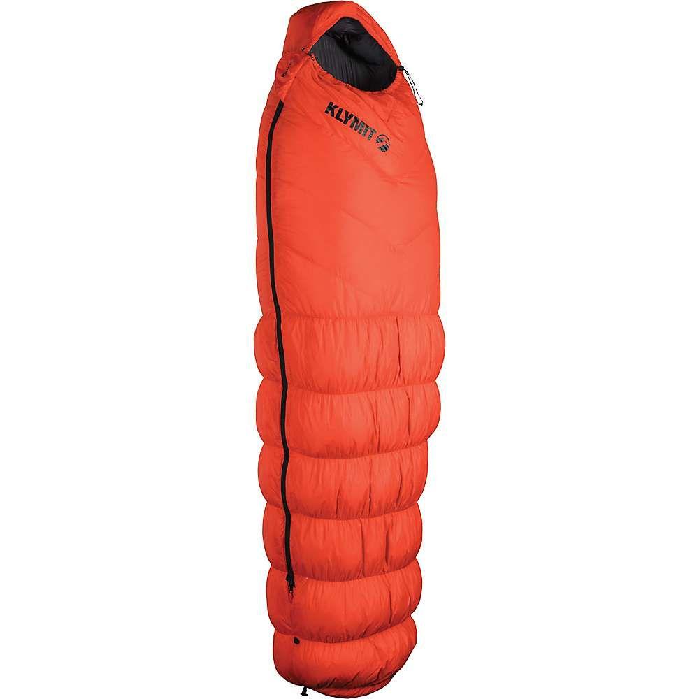 クライミット メンズ ハイキング・登山【KSB 0 Down Sleeping Bag】Orange