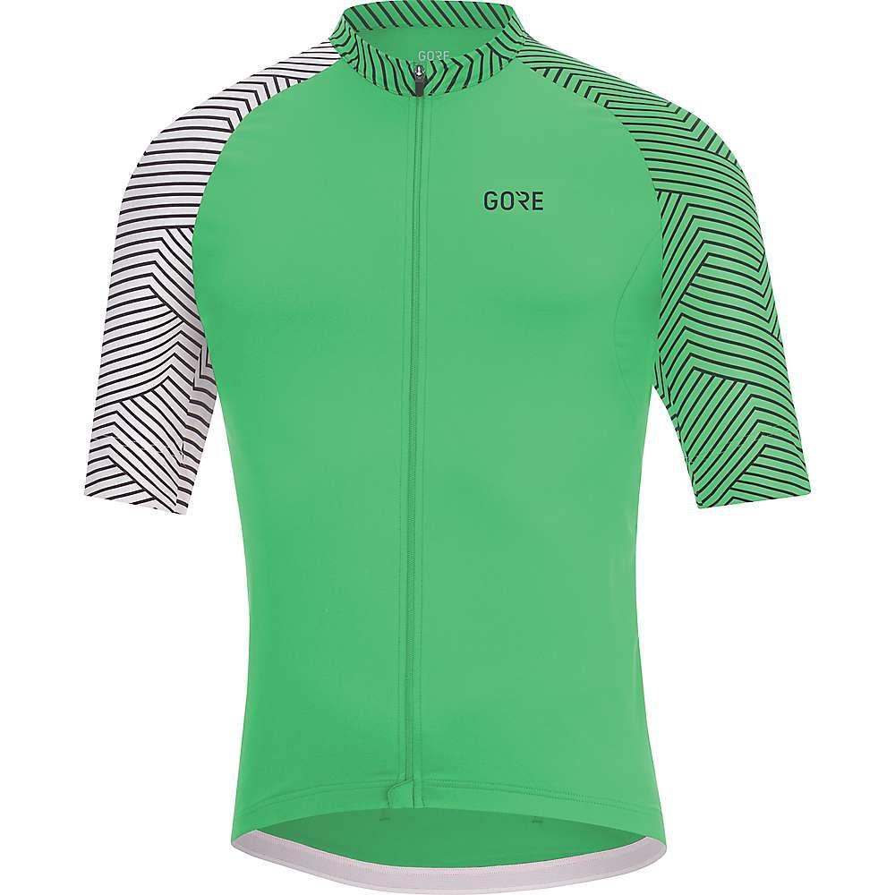 ゴアウェア メンズ 自転車 トップス【Gore C5 Optiline Jersey】Desert Green / White