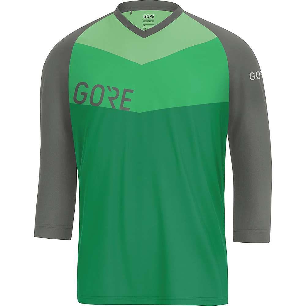 ゴアウェア メンズ 自転車 トップス【Gore C5 All Mountain 3/4 Jersey】Desert Green / Castor Grey