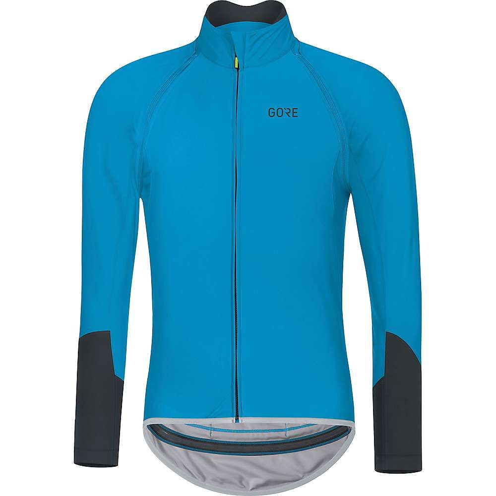 ゴアウェア メンズ 自転車 トップス【Gore C5 Gore Windstopper Zip Off Jersey】Dynamic Cyan / Black