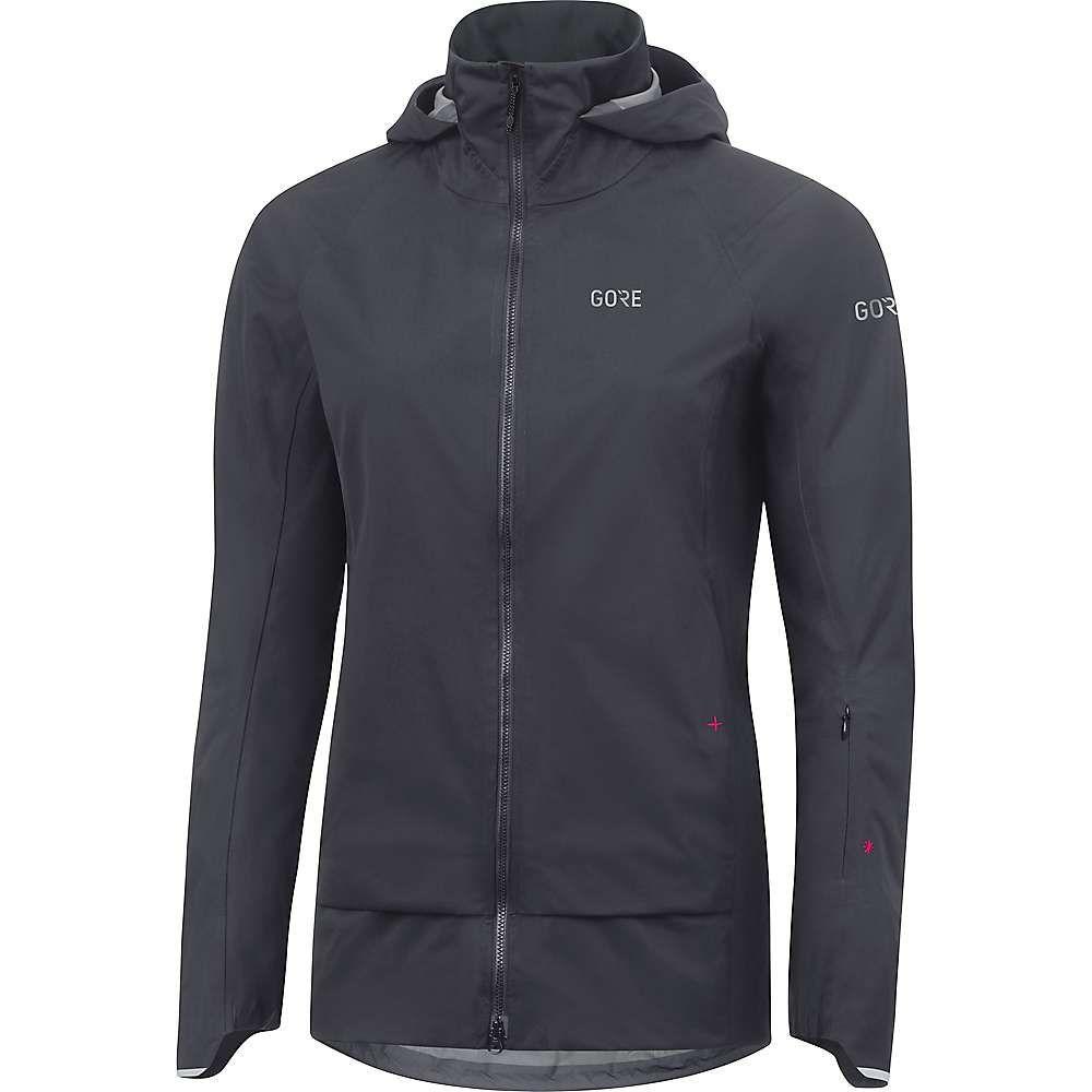 ゴアウェア レディース 自転車 アウター【Gore C5 GTX Active Trail Hooded Jacket】Terra Grey