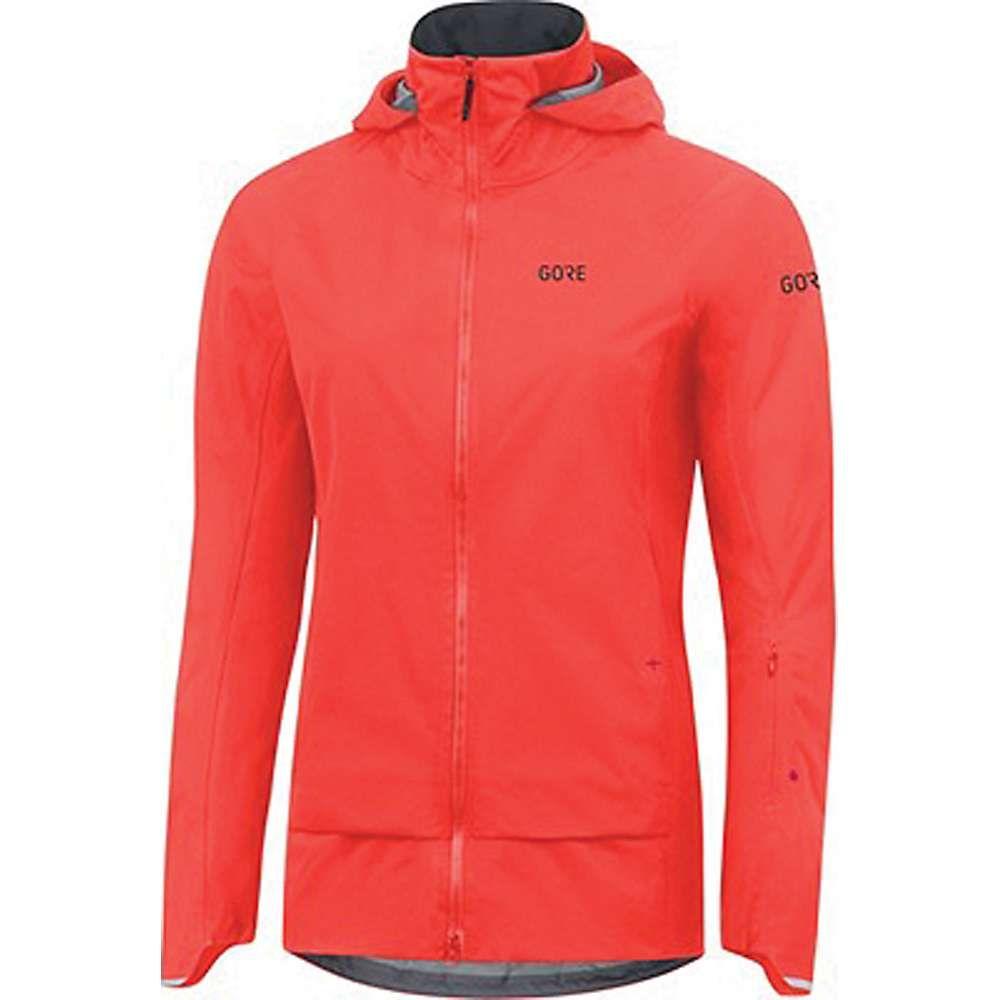 ゴアウェア レディース 自転車 アウター【Gore C5 GTX Active Trail Hooded Jacket】Lumi Orange