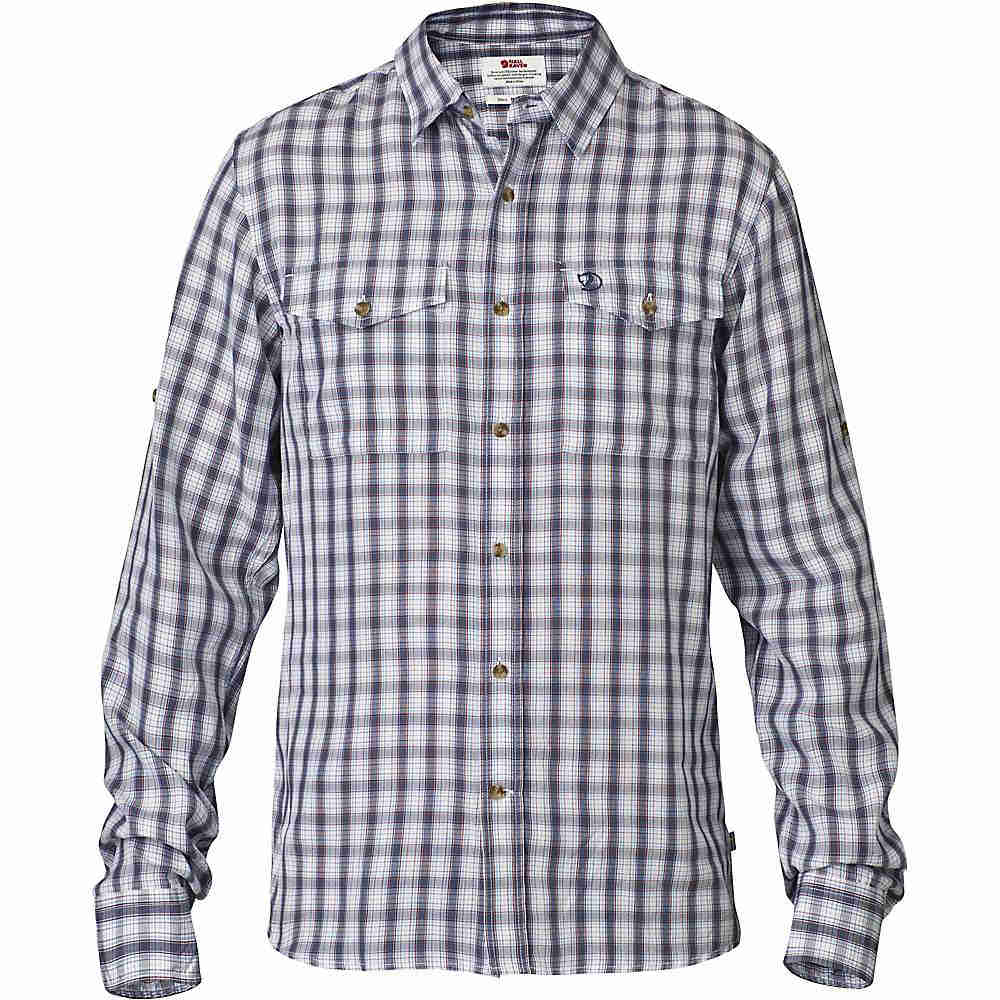 フェールラーベン メンズ トップス 長袖シャツ【Fjallraven Abisko Cool Long Sleeve Shirt】Bluebird