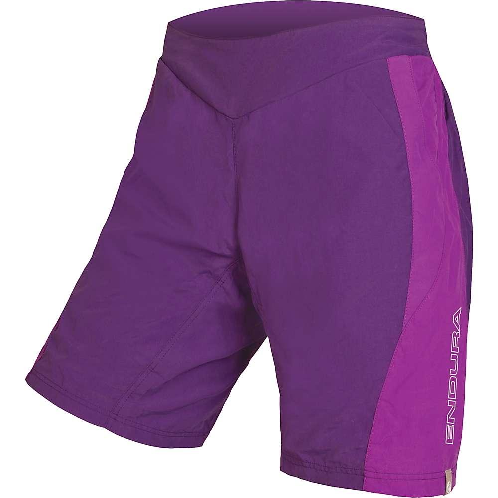 エンデュラ レディース サイクリング ウェア【Endura Pulse Short】Purple