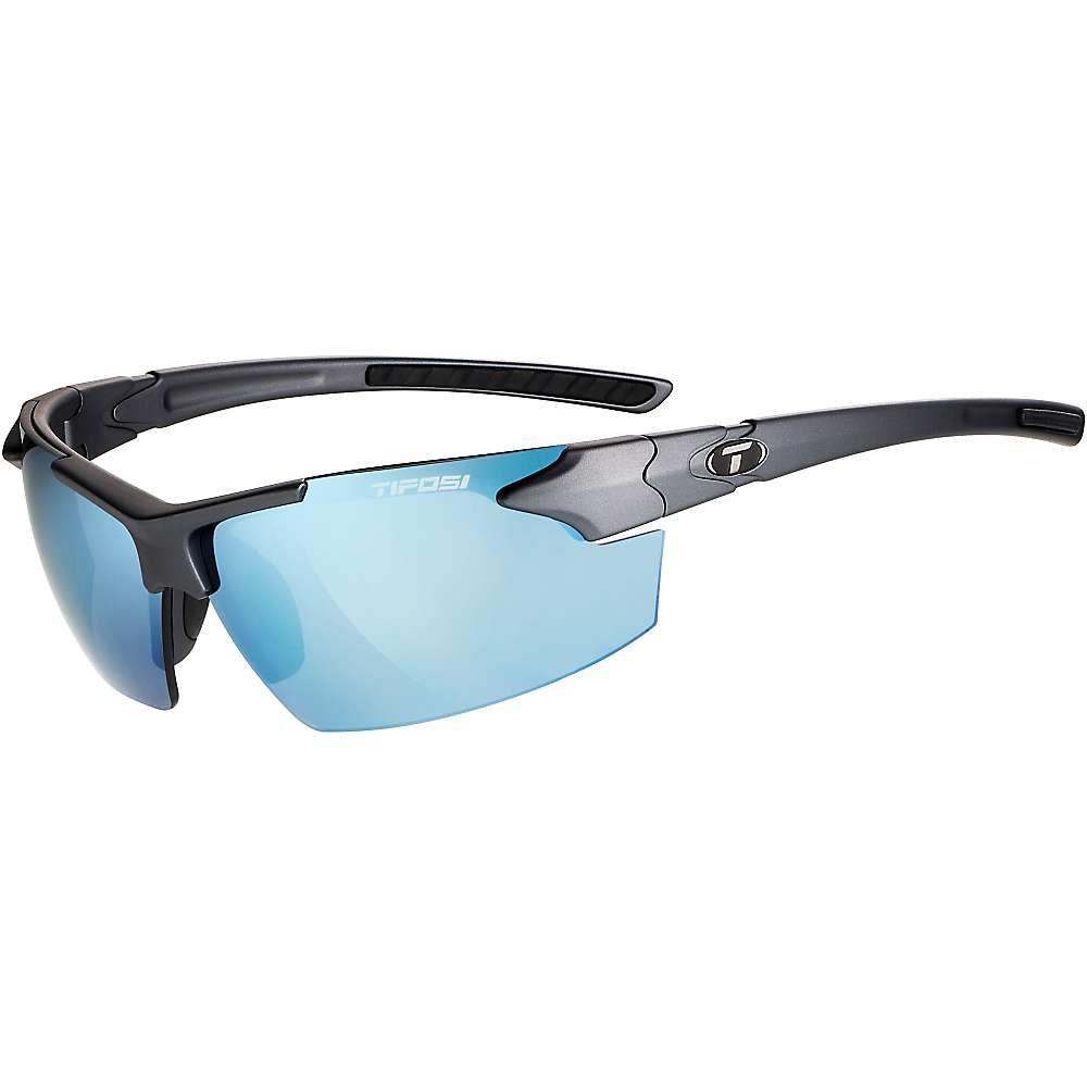 【在庫あり】 ティフォージ メンズ スポーツサングラス【Tifosi Jet FC Sunglasses】Matte Gunmetal / Smoke Bright Blue, kpisports 55b893e4