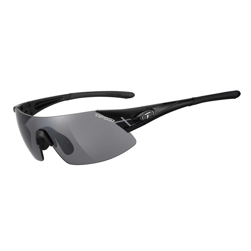 ティフォージ レディース スポーツサングラス【Tifosi Podium XC Sunglasses - Asian Fit】Matt Black / Smoke / AC Red / Clear