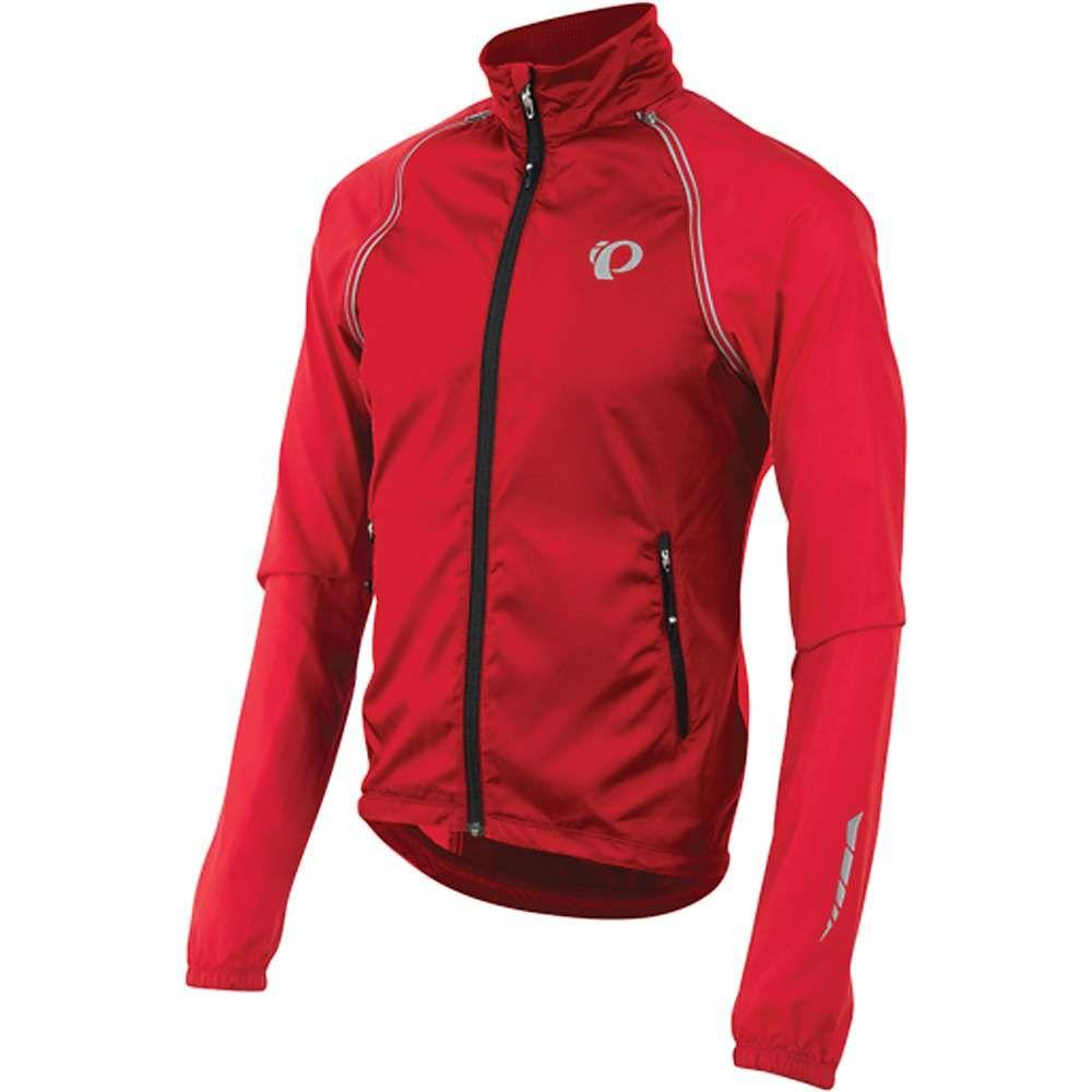 パールイズミ メンズ 自転車 アウター【ELITE Barrier Jacket】True Red