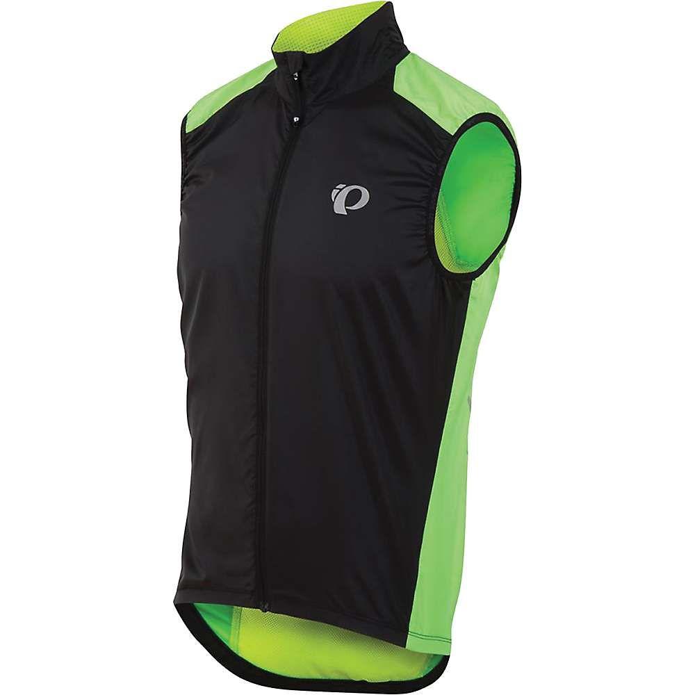 パールイズミ メンズ 自転車 トップス【ELITE Barrier Vest】Screaming Green / Black