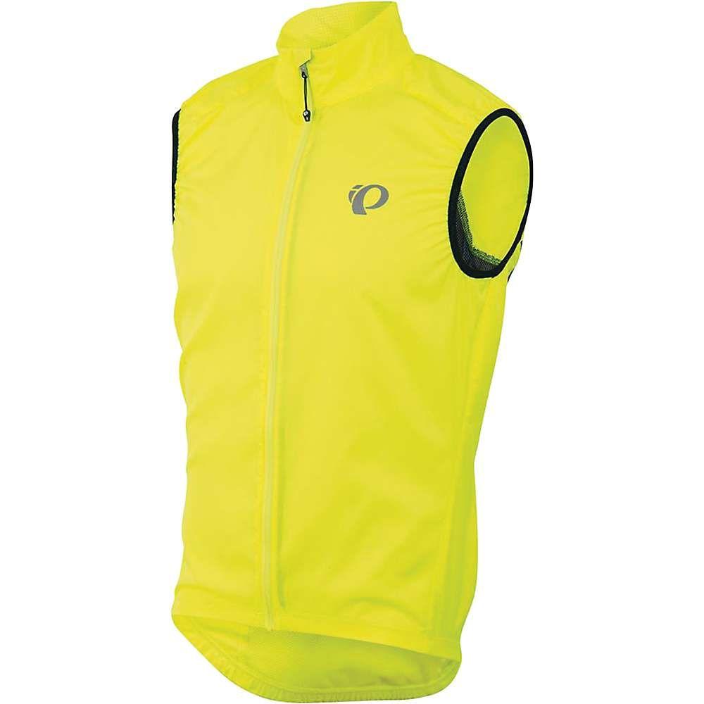 パールイズミ メンズ 自転車 トップス【ELITE Barrier Vest】Screaming Yellow