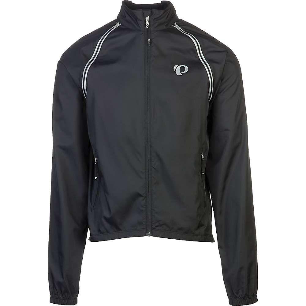 パールイズミ メンズ 自転車 アウター【ELITE Barrier Convertible Jacket】Black