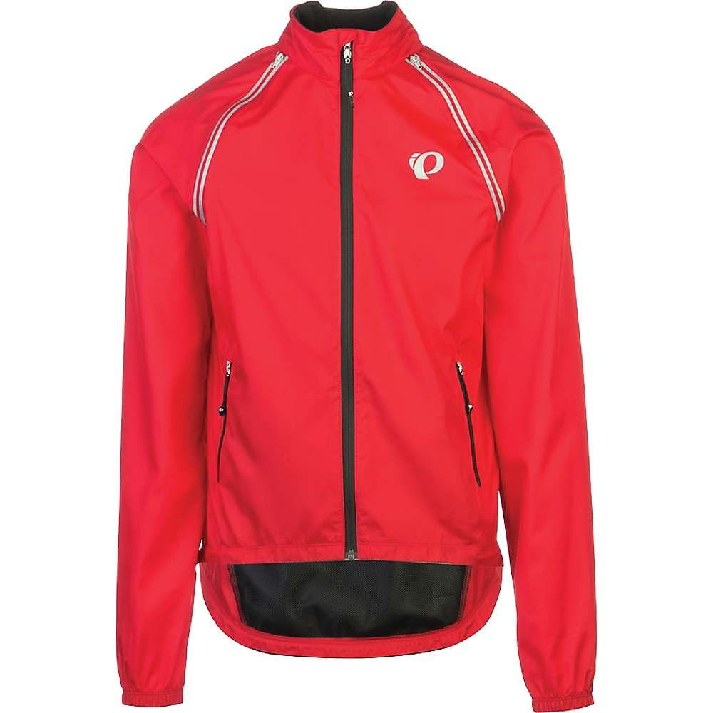 パールイズミ メンズ 自転車 アウター【ELITE Barrier Convertible Jacket】True Red