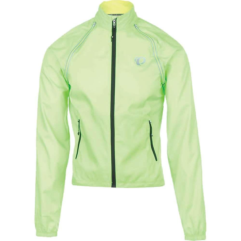 パールイズミ メンズ 自転車 アウター【ELITE Barrier Convertible Jacket】Screaming Green