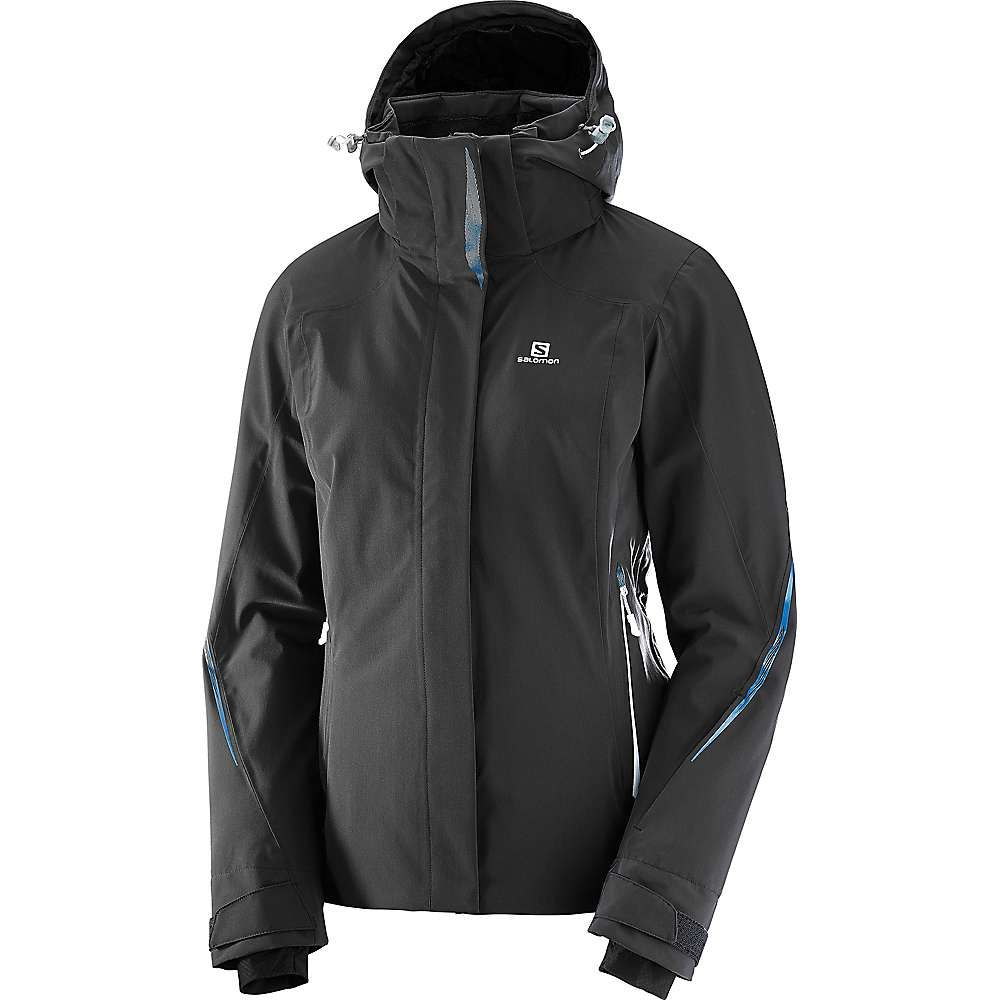 サロモン レディース スキー・スノーボード アウター【Brilliant Jacket】Black F17