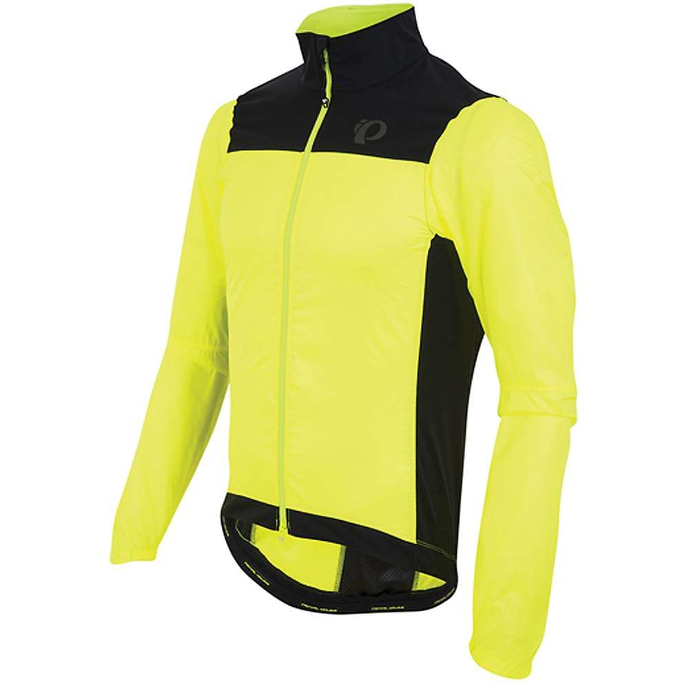 パールイズミ メンズ 自転車 アウター【P.R.O. Barrier Lite Jacket】Screaming Yellow / Black