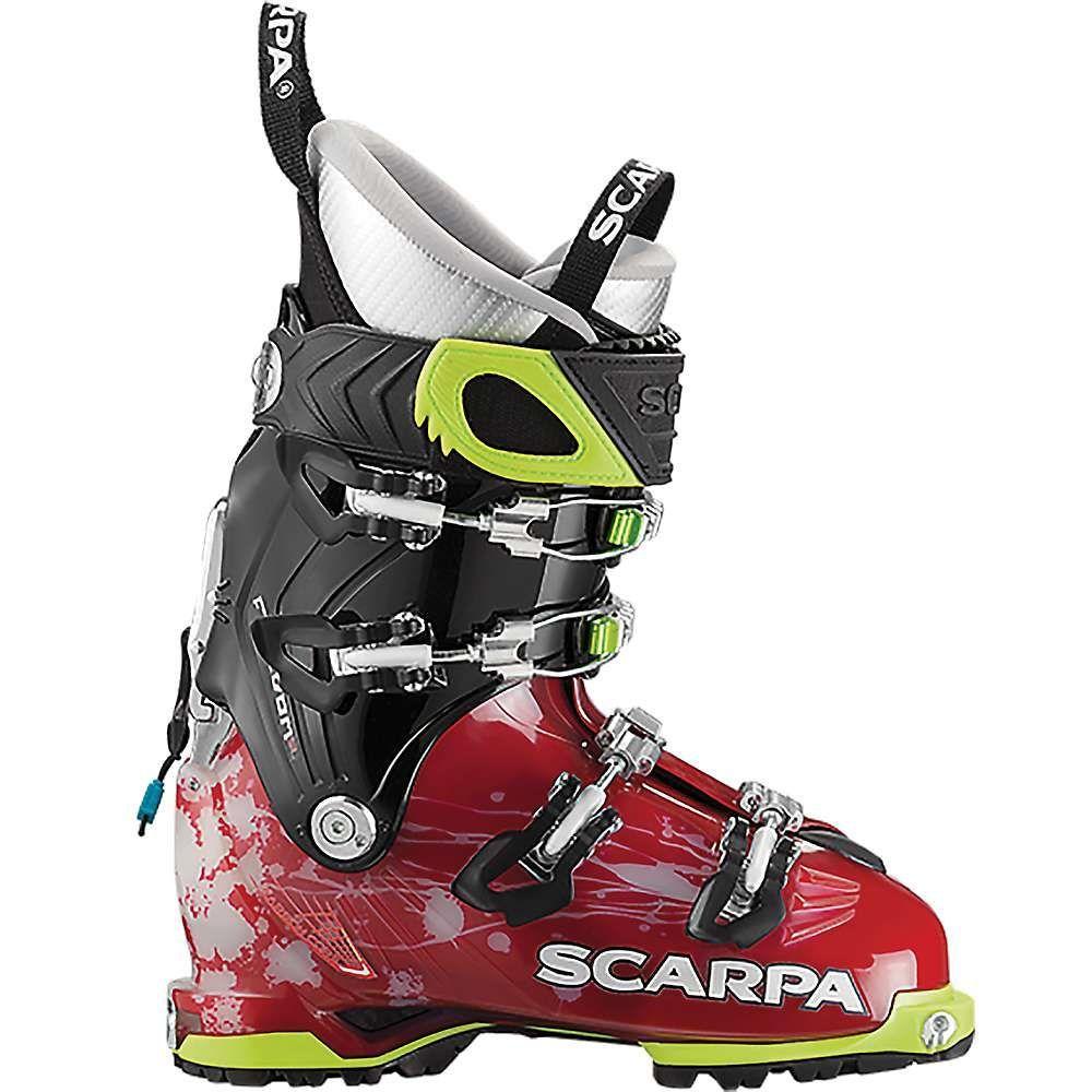 スカルパ レディース スキー・スノーボード シューズ・靴【Freedom SL 120 Boot】Scarlet / White