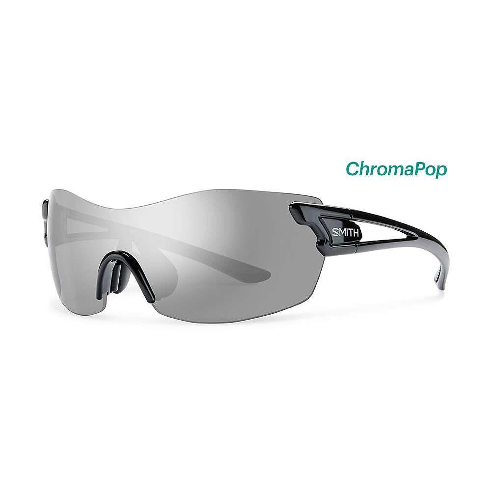 スミス ユニセックス スポーツサングラス【PivLock Asana ChromaPop Sunglasses】Black / Platinum