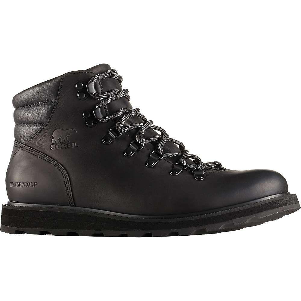 ソレル メンズ ハイキング・登山 シューズ・靴【Madson Hiker Waterproof Boot】Black / Black